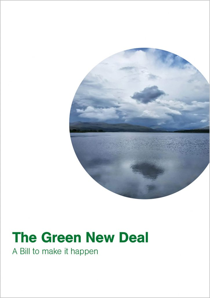The Green New Deal: A Bill to make it happen